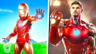 LIFE & DEATH OF IRON MAN! (A Fortnite Short Film)