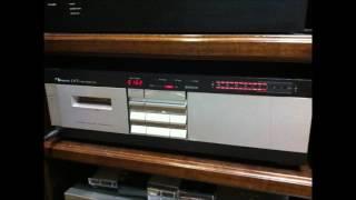 ナカミチの LX-3という 2ヘッドのカセットデッキで再生してみました。