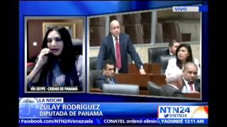 """""""La Canciller colombiana me quiere crucificar"""": Diputada panameña en NTN24"""