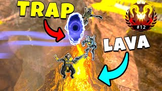*NEW* OP LAVA TRICK IS INSANE! - NEW Apex Legends Funny & Epic Moments #247