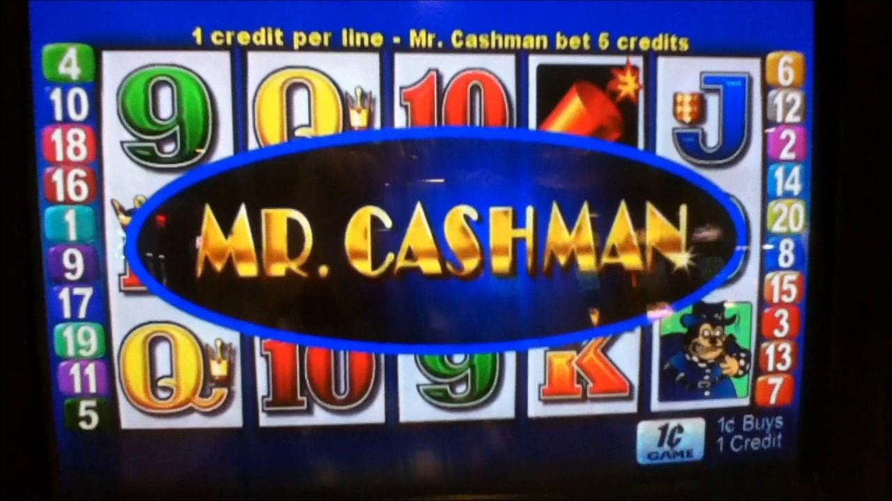 Mr Cashman Slots