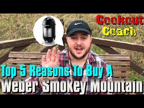 Top 5 Reasons To Buy A Weber Smokey Mountain