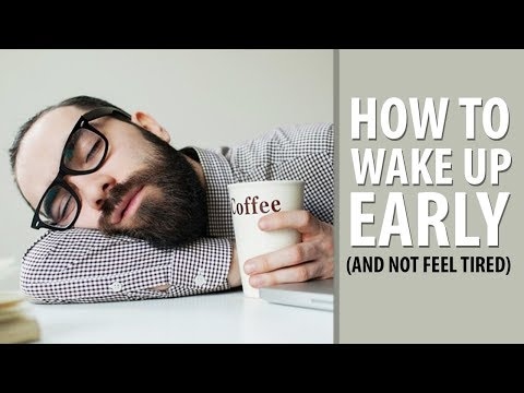 How To Wake Up Early And Not be Tired | Tips to Become a Morning Person | Alex Costa