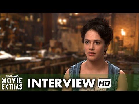 Victor Frankenstein (2015) Behind the Scenes Movie Interview - Jessica Brown Findlay is 'Lorelei'