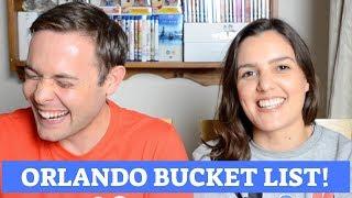 Our Disneyworld/Universal Trip Bucket List! | 2018