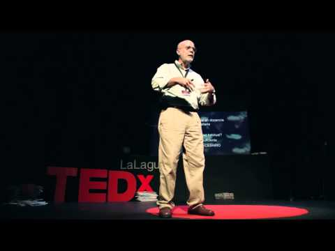 Teaching how to fish rather than giving fish | Luis López | TEDxLaLaguna