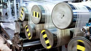 Herstellung von Polyesterfaser | Märkische Faser | SEW-EURODRIVE