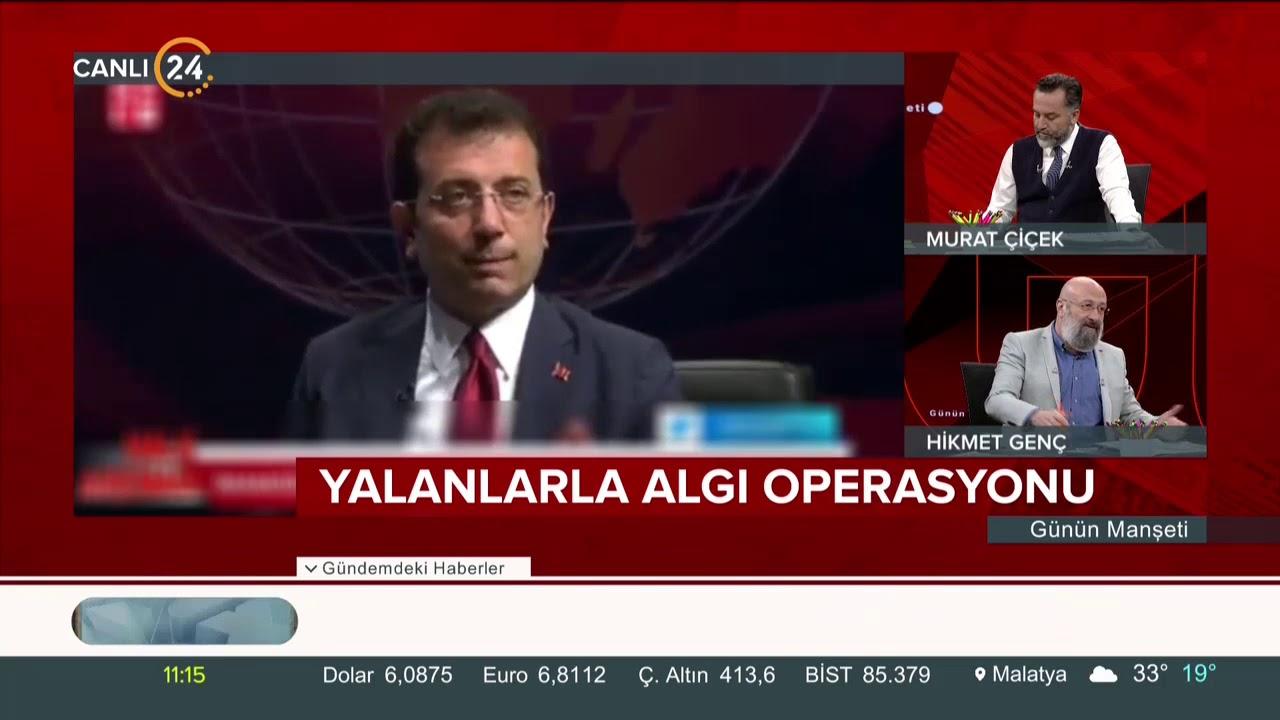 Ekrem İmamoğlu'nun güldüren 4 kameraman açıklaması #GününManşeti'nde