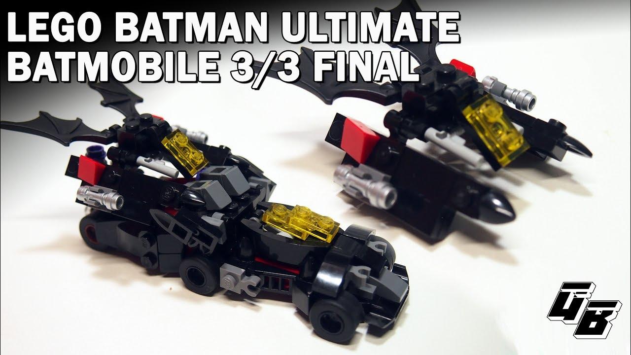 lego batman moc mini ultimate batmobile batwing part 3 3. Black Bedroom Furniture Sets. Home Design Ideas