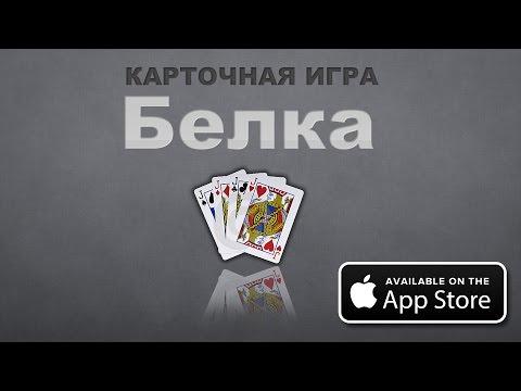 Карточная игра Белка | Карточная игра Белка на IPhone