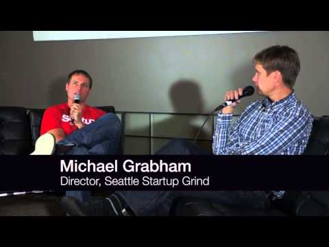 John Cook (Co-founder Geekwire) at Startup Grind Seattle