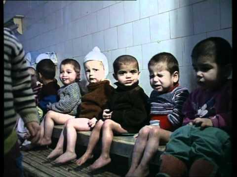 Rumänische Waisenkinder