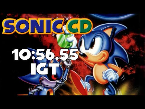 Sonic CD - Any% Speedrun In 10:56.55 IGT [Current World Record]