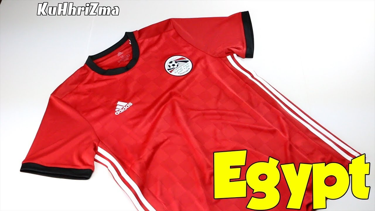 World Cup 2018 Adidas Home Egypt Jersey Unboxing + Review from Subside  Sports 131a191af