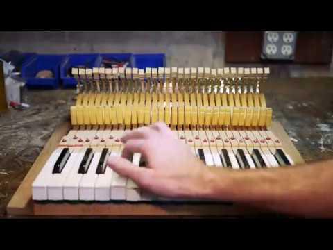 Flexiphone Keyboard Build [Part 1/2] - Action & Cabinet