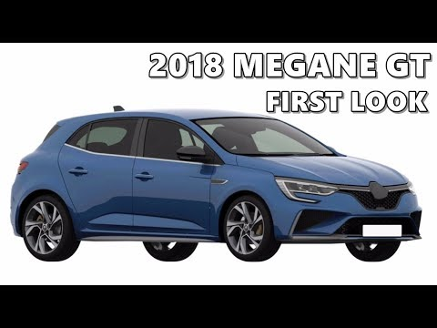 2018 renault megane gt facelift first look youtube. Black Bedroom Furniture Sets. Home Design Ideas