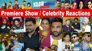 Yaar Anmulle Returns Premiere Show Celebrity Reactions | Reviews | Punjabi Teshan | Prabh | Harish Thumb