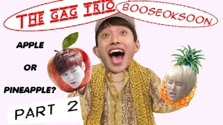 Seventeen the gag trio: booseoksoon part 2