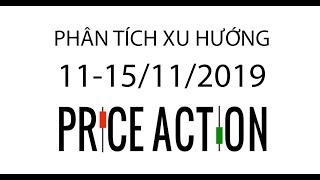 PHÂN TÍCH XU HƯỚNG 11-15/11/2019 (Price Action) - Forex Traders