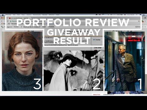 Результаты конкурса Мой лучший портрет! Розбор фото от Владимира Иваша. Giveaway Results