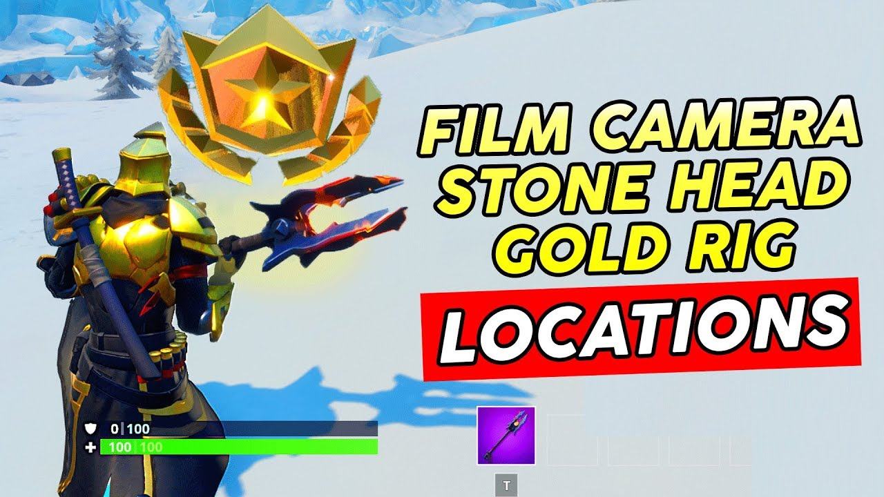 Search Between A Basement Film Camera Fortnite Search Between Basement Film Camera Snowy Stone Head And A Flashy Gold Big Rig Location Fortnite By Harryninetyfour