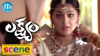 Anushka Love Scene From Lakshyam Movie || Gopichand, Jagapathi Babu, Anushka