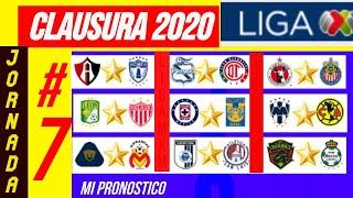 LIGA MX JORNADA 7 CLAUSURA 2020 | MI PRONOSTICO