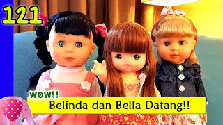 Download Video Belinda dan Bella Datang, Unboxing Walking Doll 7L - Mainan Boneka Eps 121 S1P14E121 GoDuplo TV MP3 3GP MP4