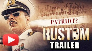 Rustom Official Trailer OUT | Akshay Kumar, Ileana D'Cruz, Esha Gupta & Arjan Bajwa