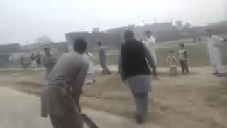Younis khan playing Tennis ball cricket in a Village thumbnail