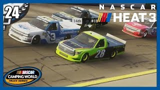 (Not Half Bad Of a Truck!) NASCAR Heat 3 Career Mode Part #24