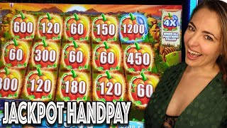 AMAZING HANDPAY ON FARMVILLE MIGHTY CASH in VEGAS!