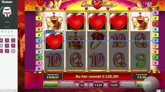 Big Win on  Queen Of Hearts Deluxe  from Novomatic