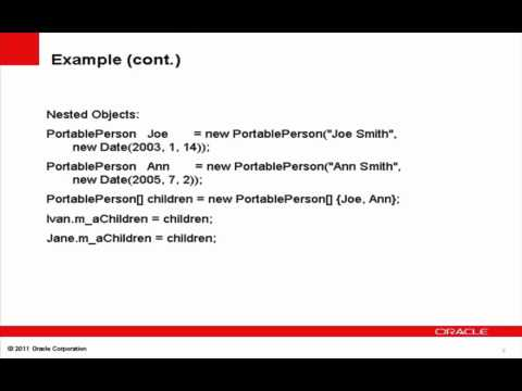 Coherence 3.7.1 - POF Object Identities and References
