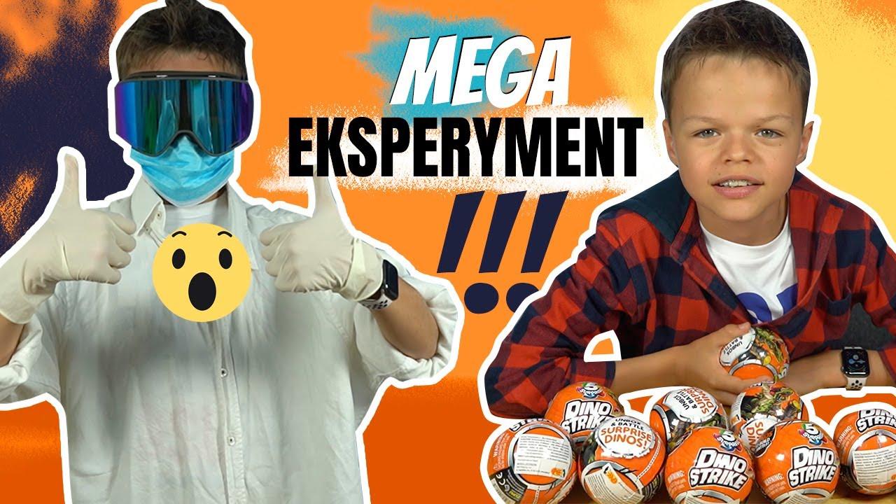 Mega eksperyment i własne dinozaury! Dino Strike w akcji!