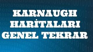 SAYISAL ELEKTRONİK DERSLERİ: Karnaugh Haritaları Genel Tekrar