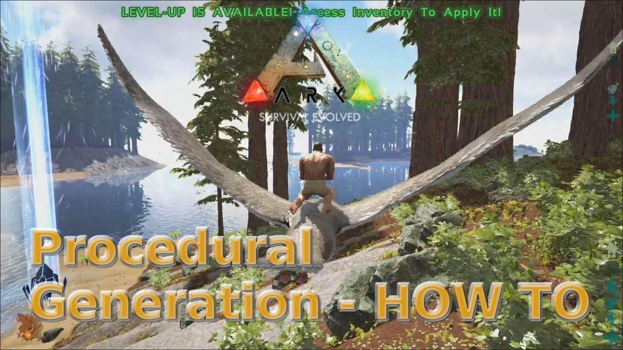 Ark: Survival Evolved - Procedurally Generated Arks - Settings - How To