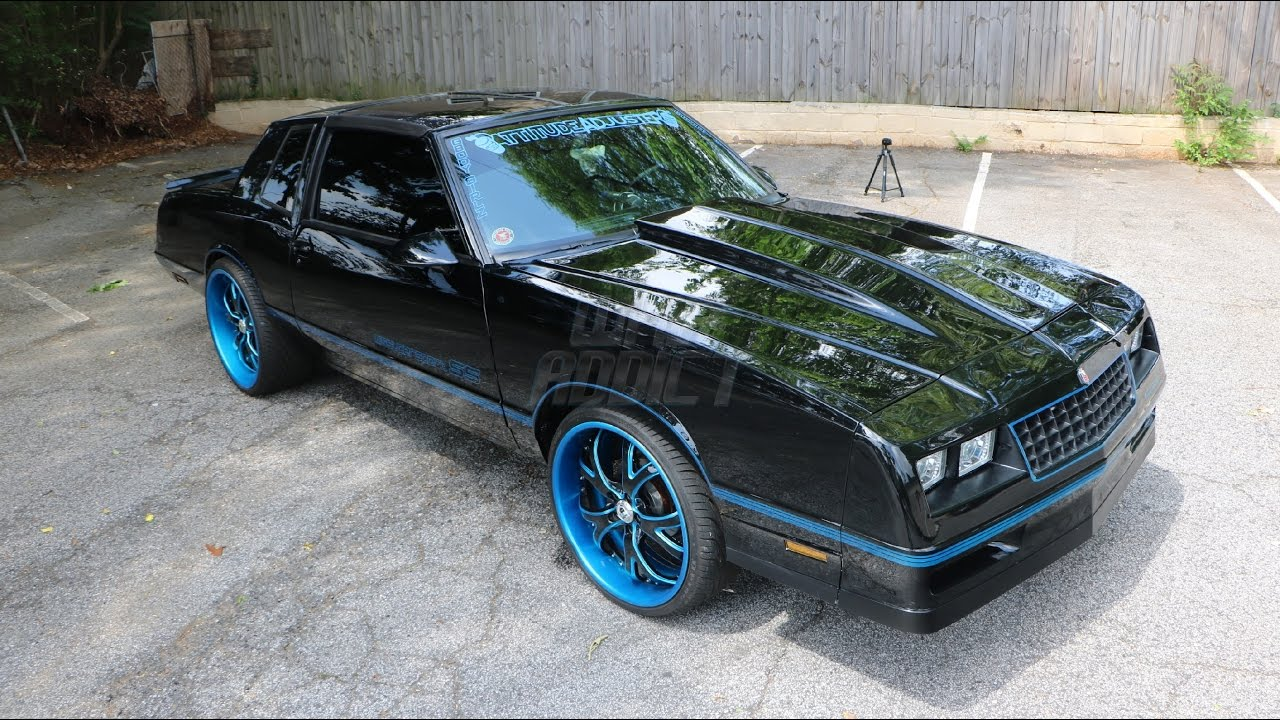 Whipaddict 87 86 Chevrolet Monte Carlo Ss T Tops Custom Cars Paint Wheels