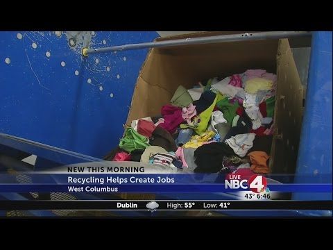 Recycled Goodwill donations create jobs