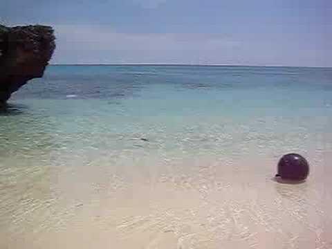 池間島の穴場ビーチ。のどかな景色。