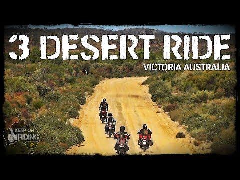 3 Desert Motorcycle Ride - Victoria Australia