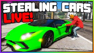 GTA 5 Roleplay - STEALING CARS and PARKING ENFORCEMENT LIVE | RedlineRP