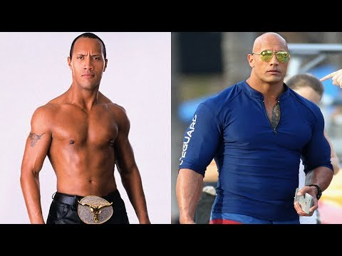 The Rock Transformation 2018 | From 1 To 45 Years Old