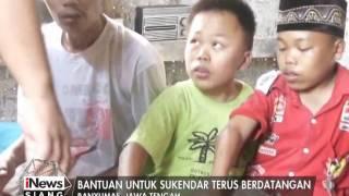 Kebahagian Sukendar bertambah karena bantuan untuk keluarganya terus berdatangan - iNews Siang 15/03
