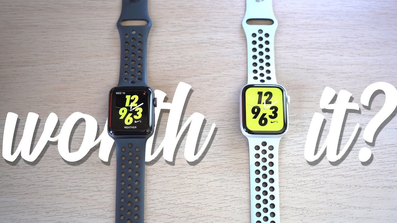 Sabio policía desconocido  Apple Watch Series 4 VS Series 3 Nike Plus Edition! is Nike+ WORTH it? -  YouTube
