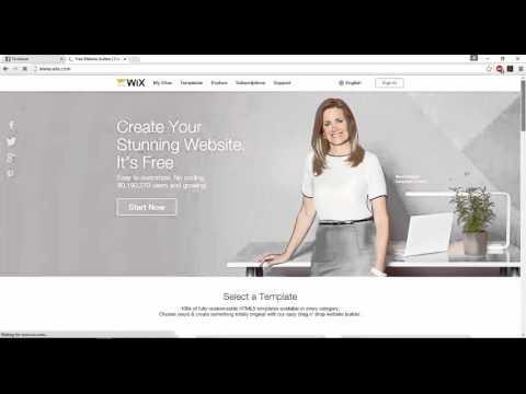 การสร้างเว็บไซต์สำเร็จรูปฟรีด้วย wix.com ep.1