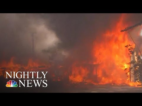 Hundreds Of Homes Lost In Southern California Wildfires | NBC Nightly News