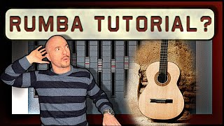 How to play the REAL Rumba of the Gipsy kings on Guitar (Right hand Technique Tutorial)