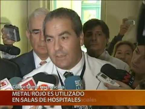 Teletrece | Inauguración sala con cobre antimicrobiano en Hospital Roberto del Río