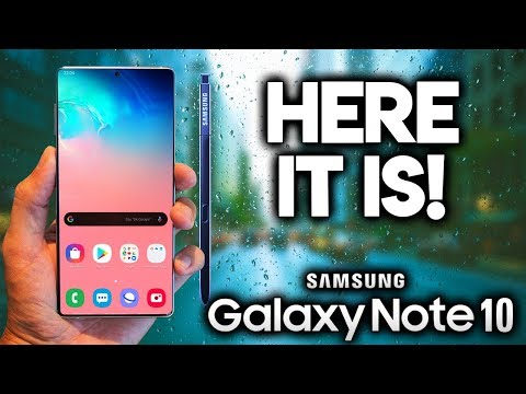 SAMSUNG GALAXY NOTE 10 - Full Specs Revealed!